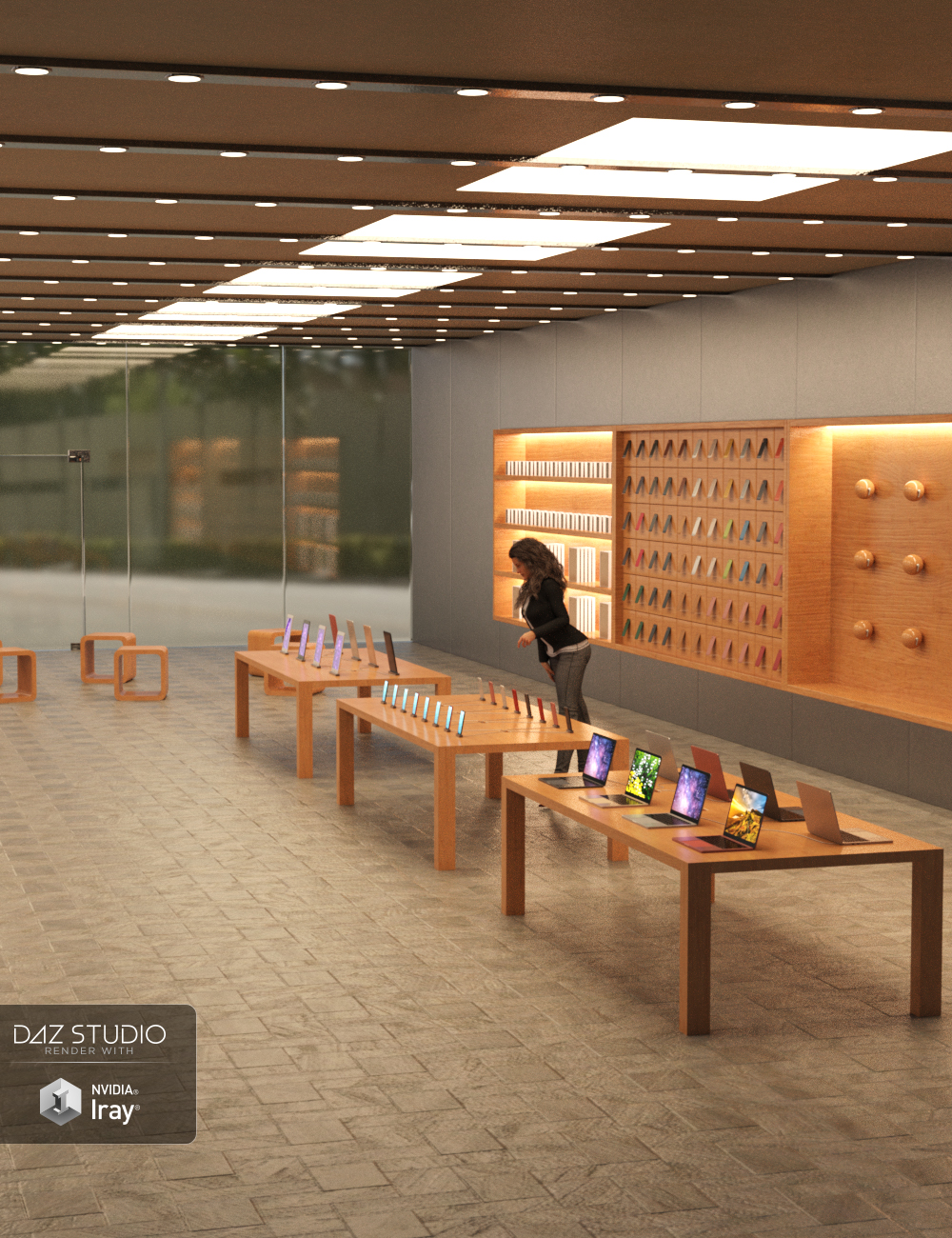 Gadget Store by: Charlie, 3D Models by Daz 3D