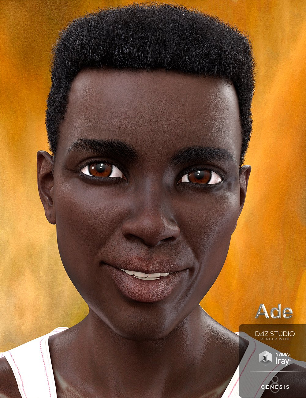 Ade for Genesis 8 Male by: Marcius, 3D Models by Daz 3D