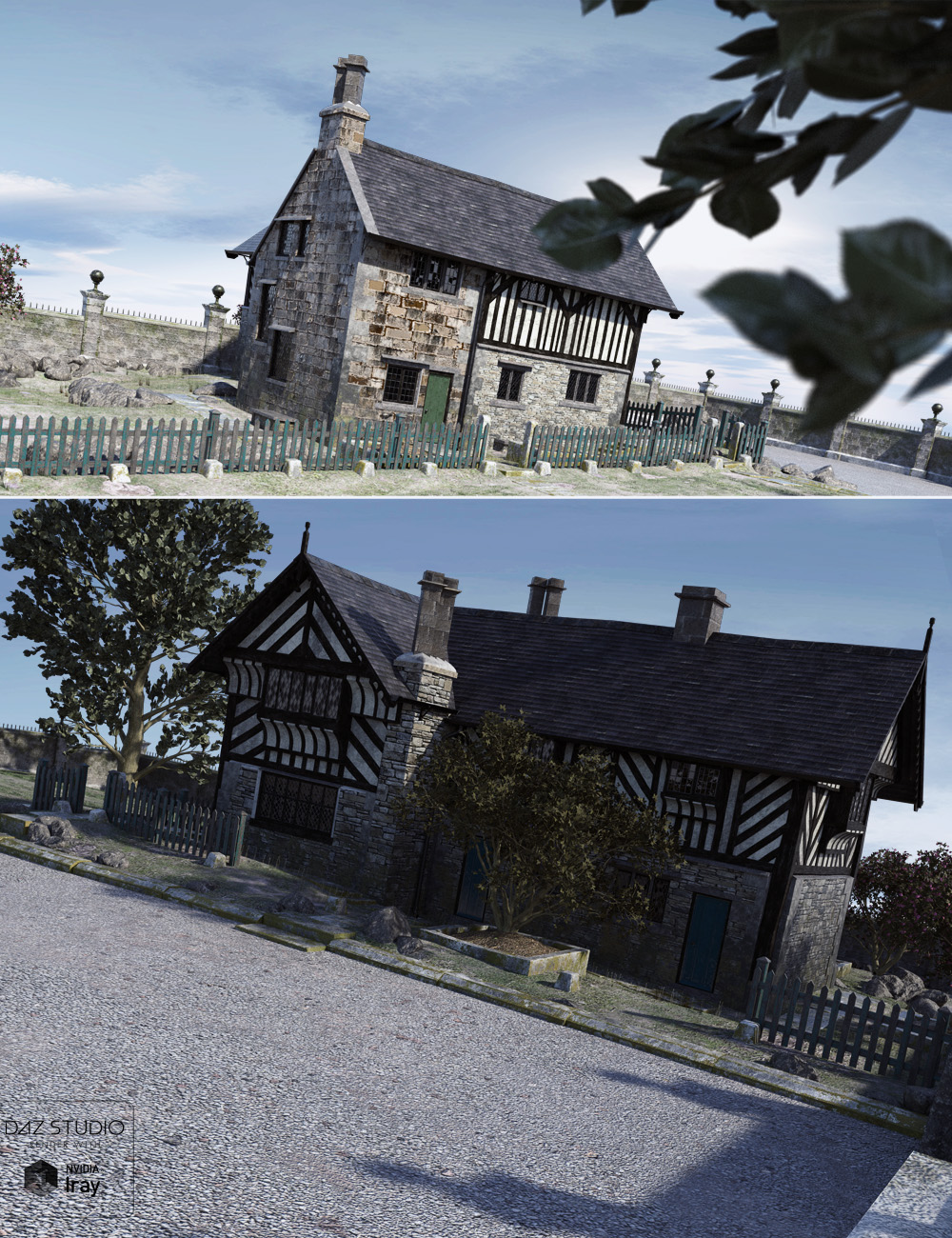 The Bishops House by: ForbiddenWhispersDavid Brinnen, 3D Models by Daz 3D