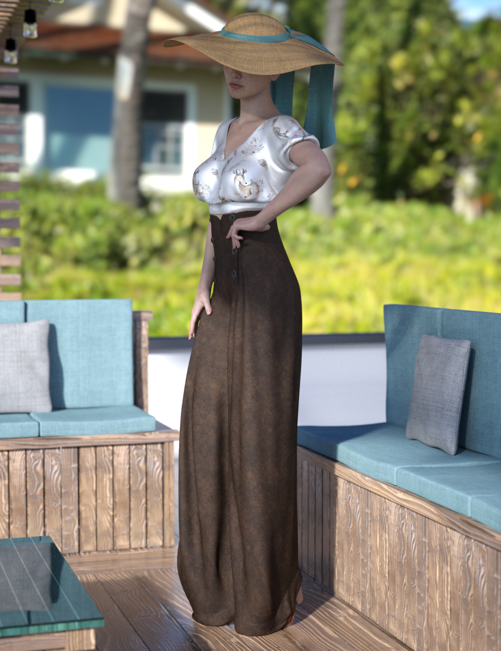 Chic X Look Texture Expansion by: Moonscape GraphicsSade, 3D Models by Daz 3D
