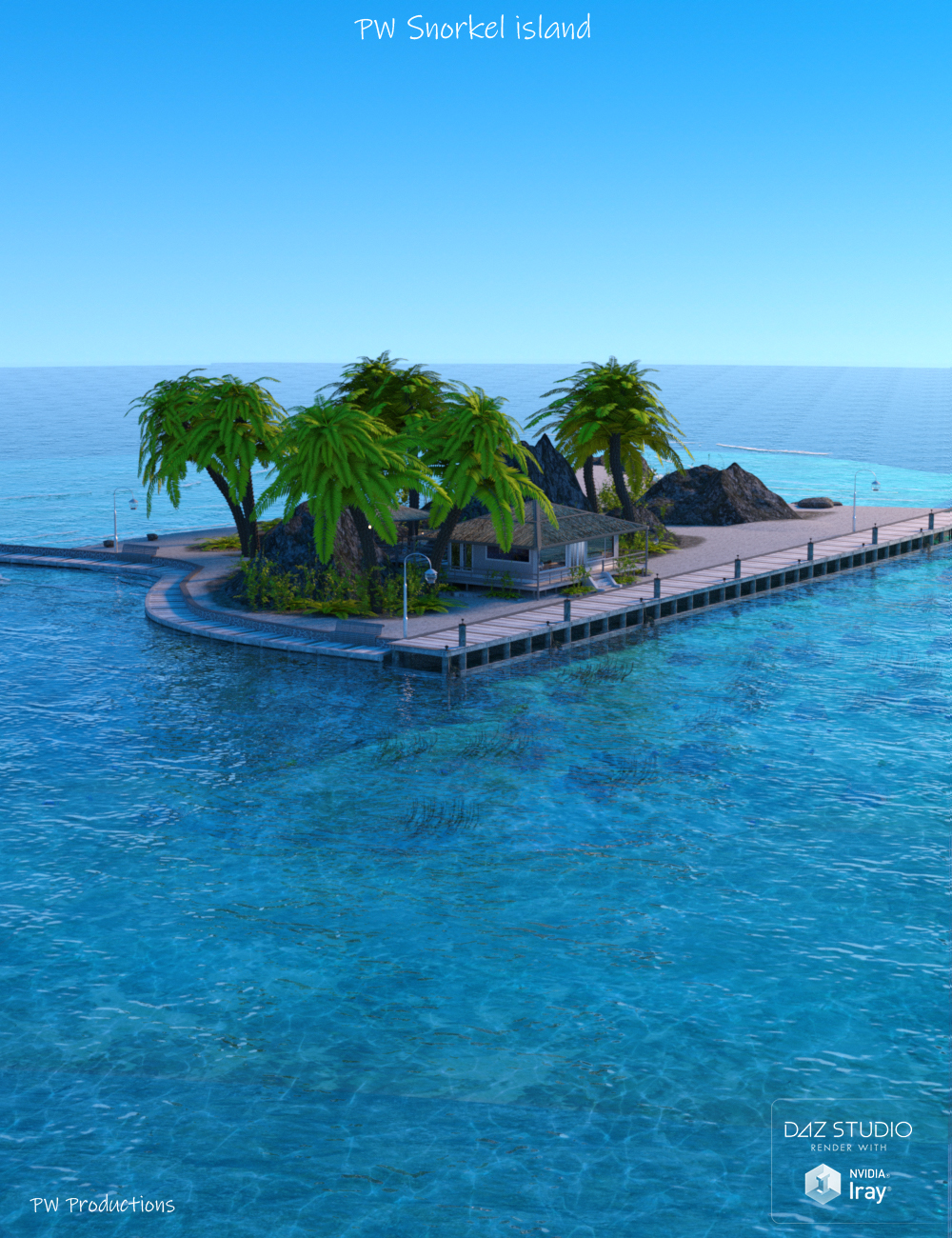 PW Snorkel Island by: PW Productions, 3D Models by Daz 3D