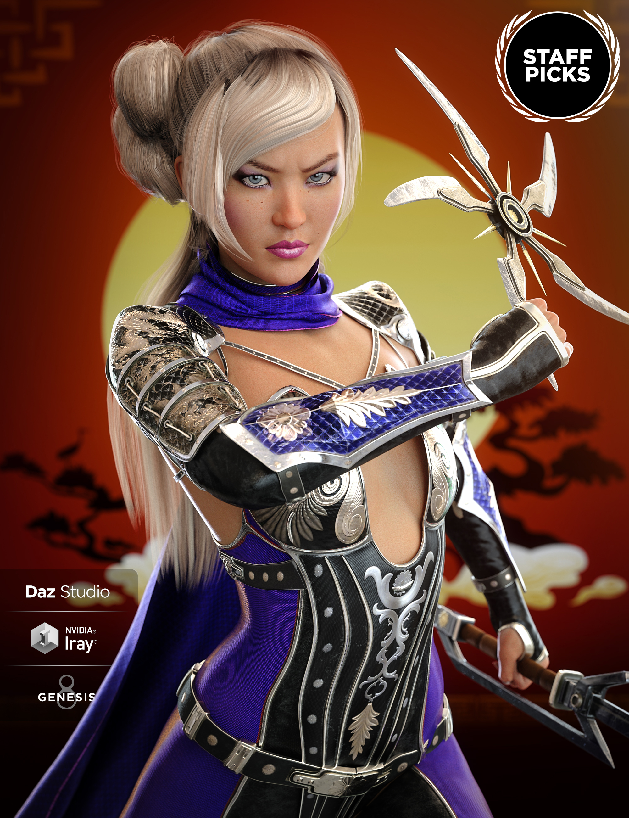 Mei Lin 8 by: , 3D Models by Daz 3D
