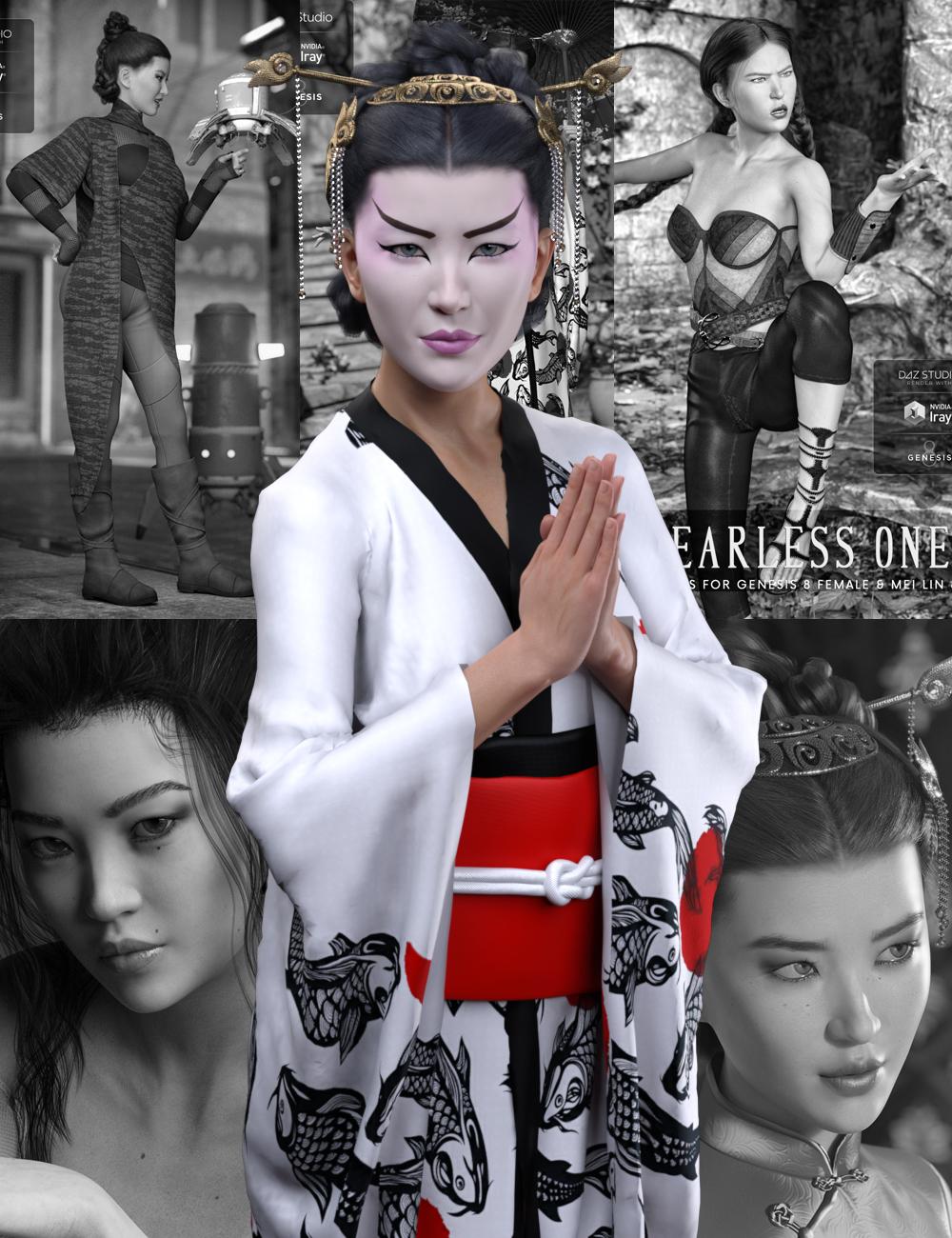 Mei Lin 8 Pro Bundle by: , 3D Models by Daz 3D