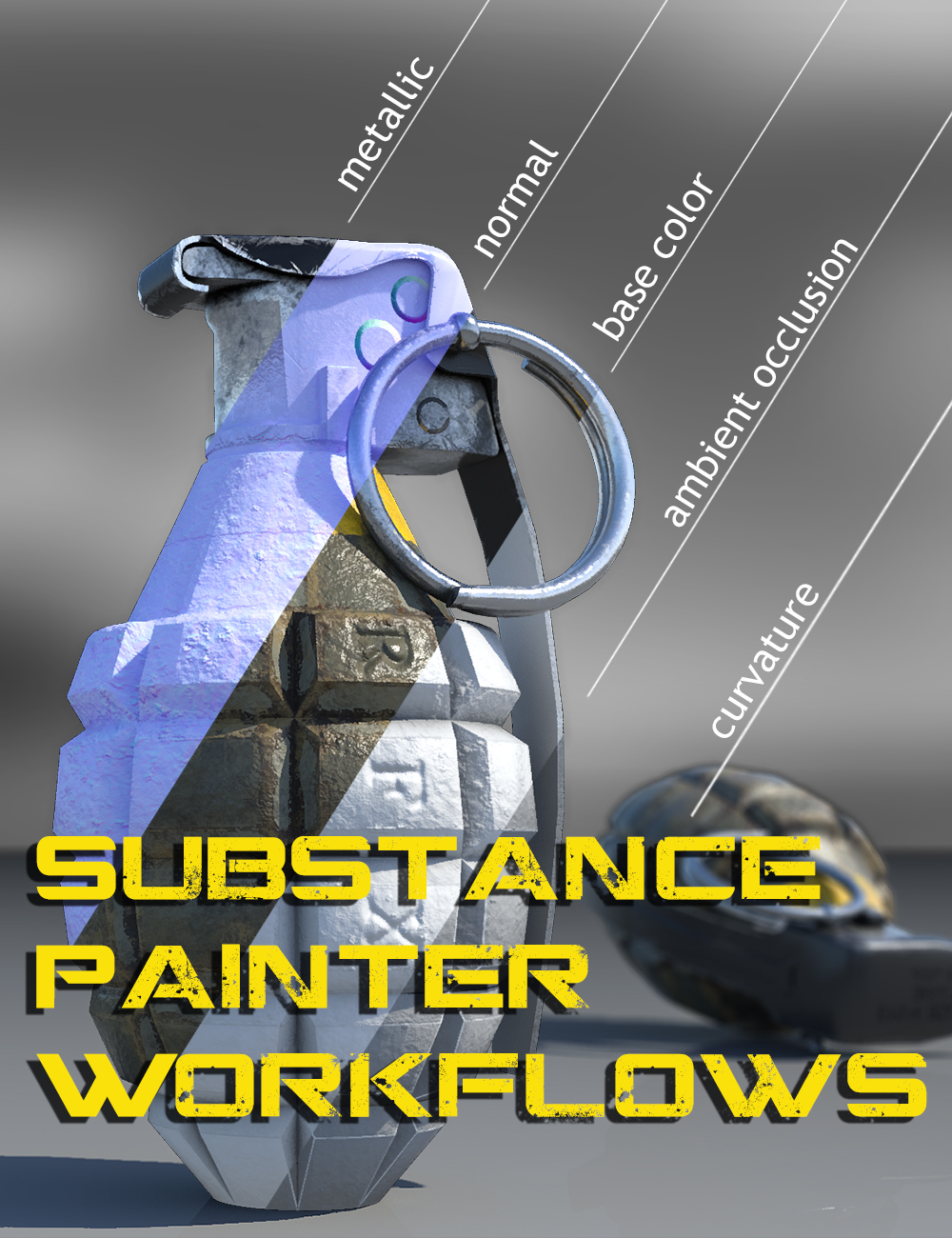 Substance Painter Workflows by: DarkEdgeDesign, 3D Models by Daz 3D