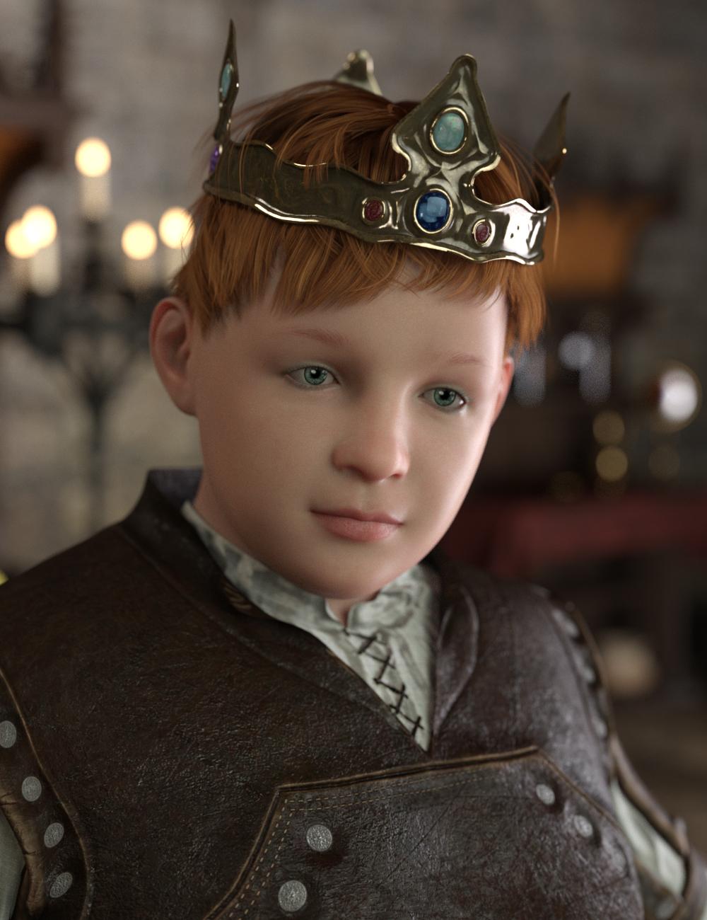 The King's Son HD for Genesis 8 Male by: Deepsea, 3D Models by Daz 3D