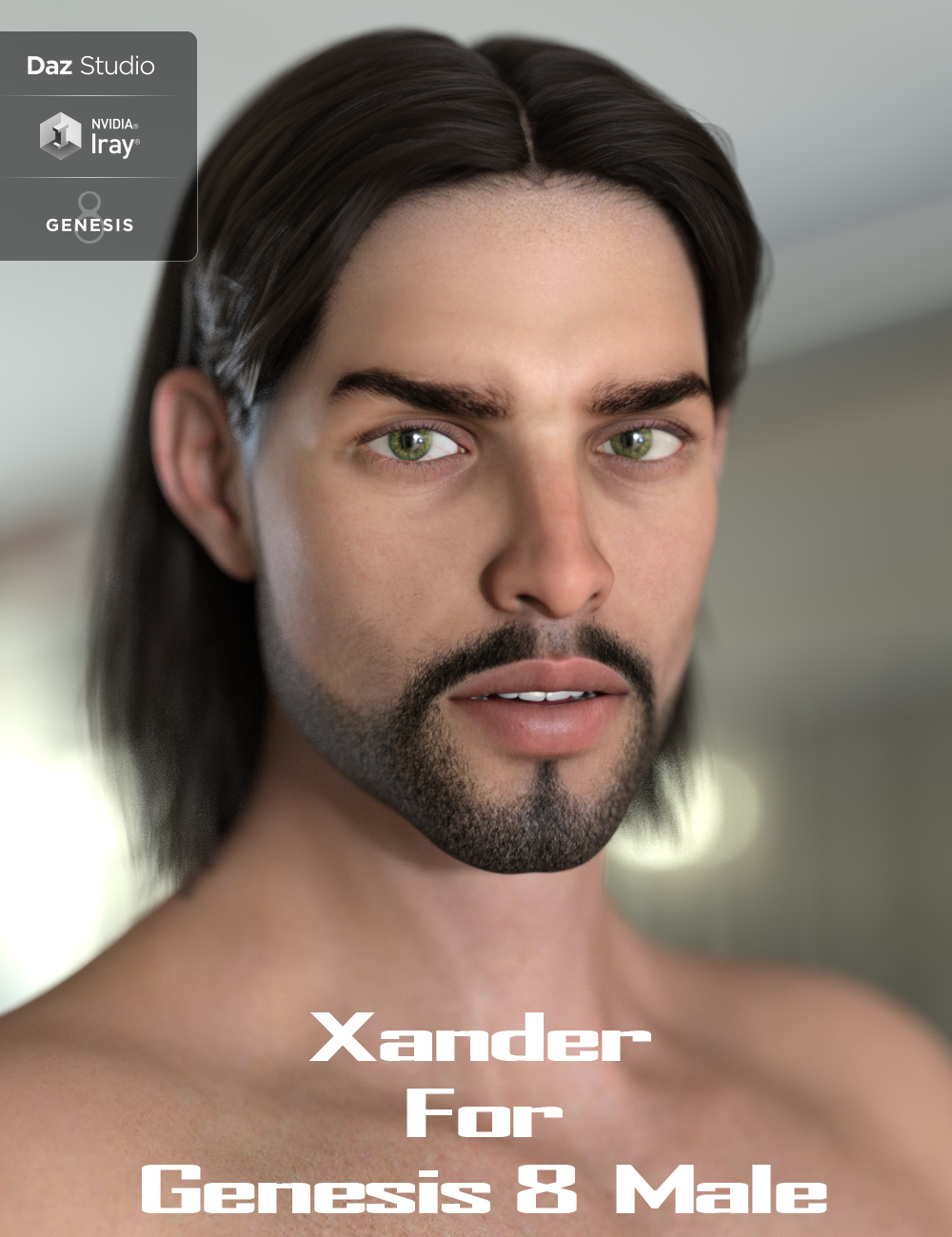 Xander for Genesis 8 Male by: JavierMicheal, 3D Models by Daz 3D