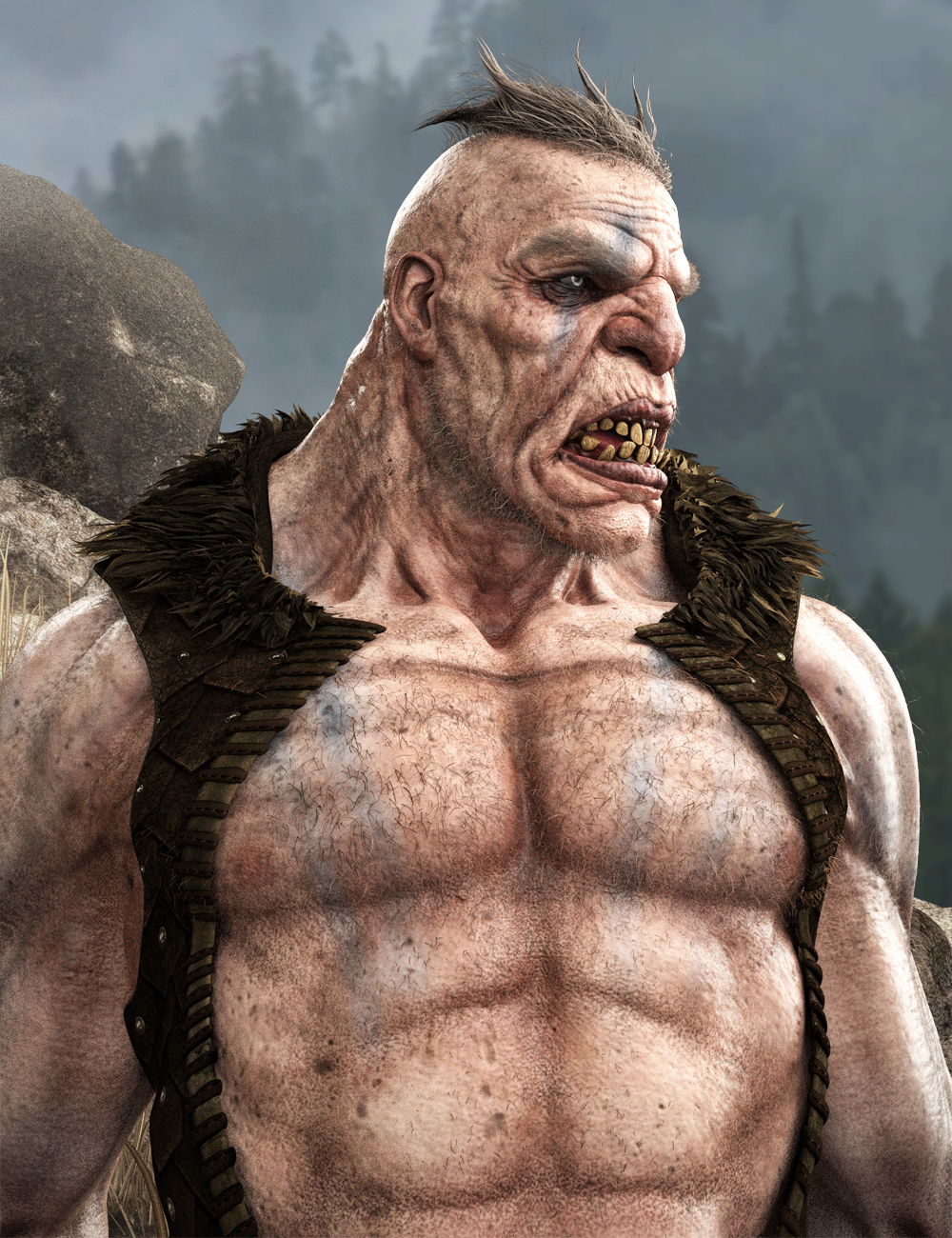 Giant HD for The Brute 8 by: , 3D Models by Daz 3D