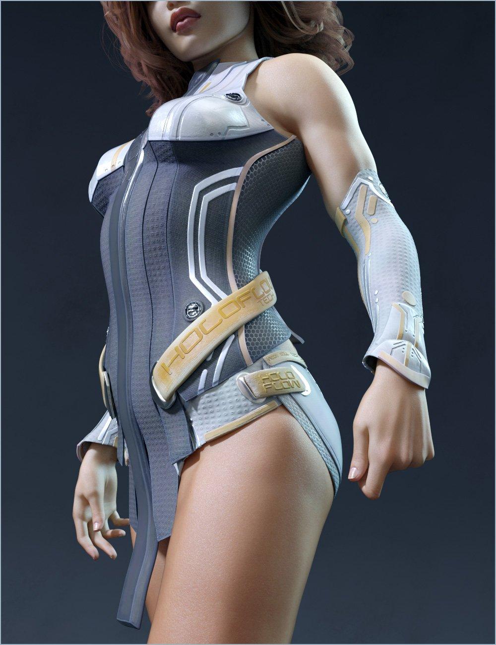 HoloFlow for Genesis 8 Female(s) by: Aeon Soul, 3D Models by Daz 3D