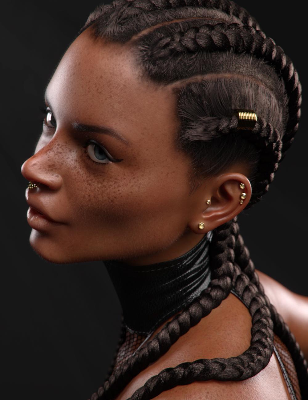 Minka for Latonya 8 by: VincentXyooj, 3D Models by Daz 3D