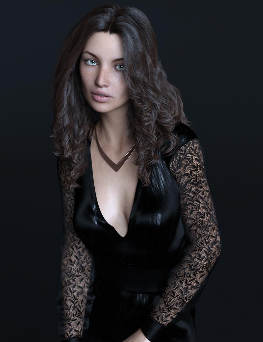 FWSA Rosalie for Genesis 8 Female by: Fisty & DarcFred Winkler ArtSabby, 3D Models by Daz 3D