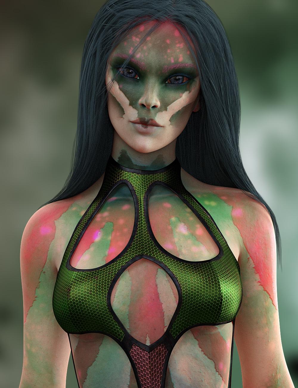 HP Vaeri for Genesis 8 Female by: SR3, 3D Models by Daz 3D
