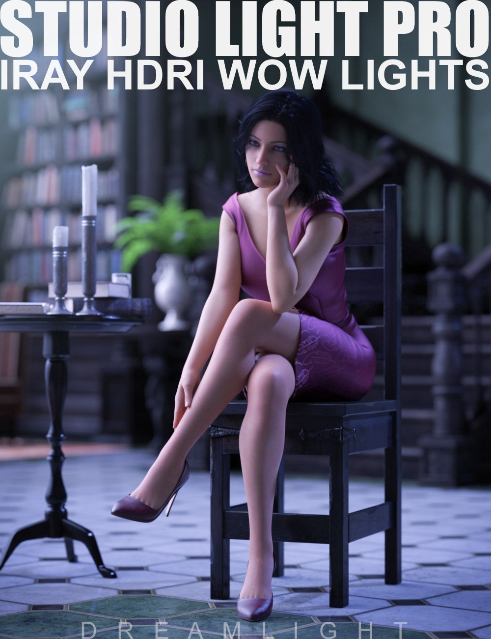 Studio Light PRO HDRI Iray Wow Lights by: Dreamlight, 3D Models by Daz 3D