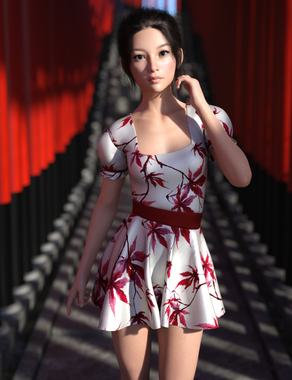 Iray Silk Shaders 01 by: Moonscape GraphicsSade, 3D Models by Daz 3D