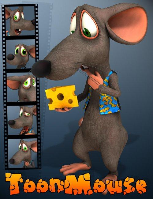 3D Universe Toon Mouse by: 3D Universe, 3D Models by Daz 3D