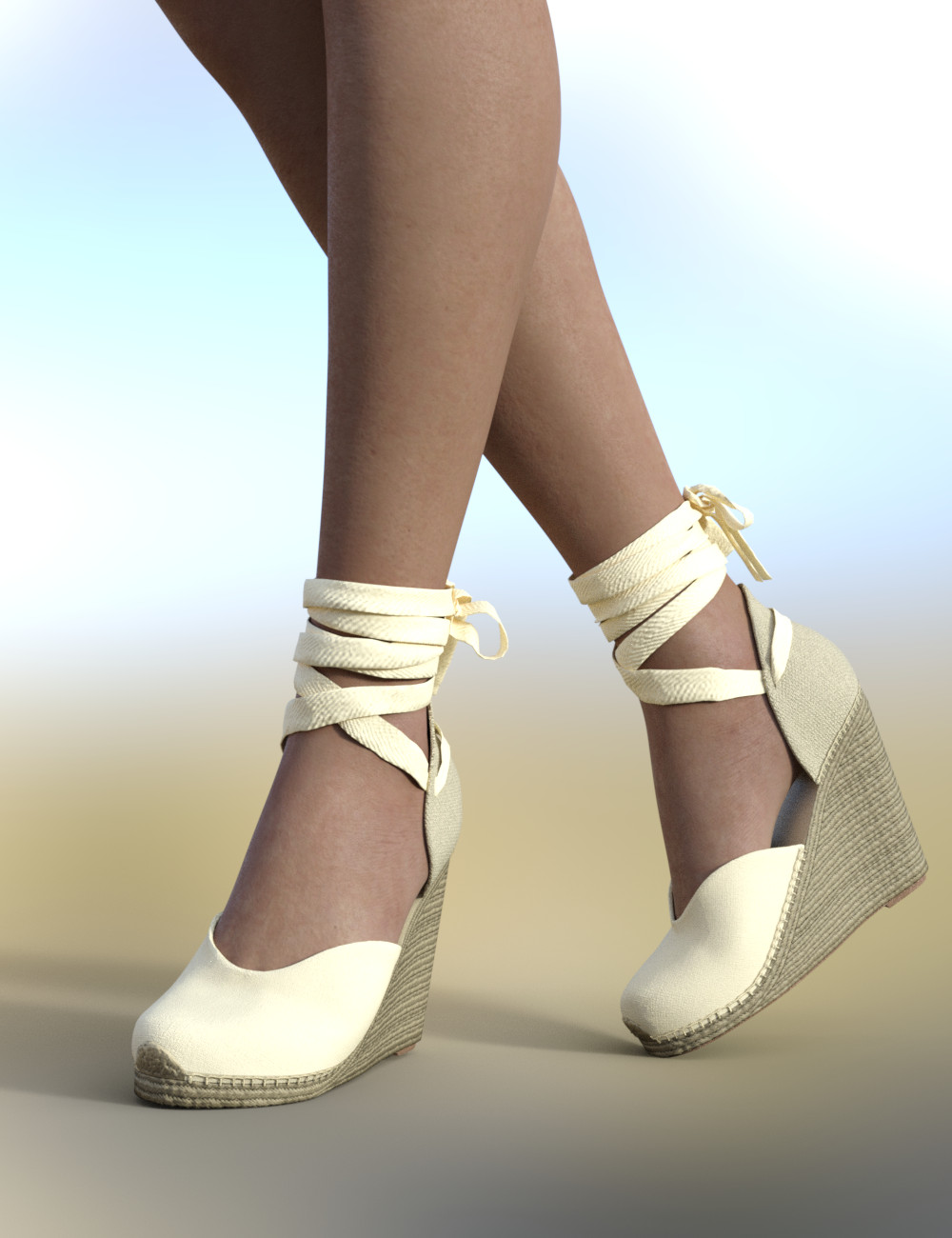 Espadrilles for Genesis 8 Female(s) by: Maralyn, 3D Models by Daz 3D