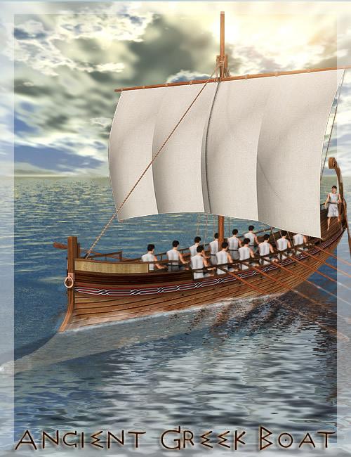 Ancient Greek Boat by: , 3D Models by Daz 3D