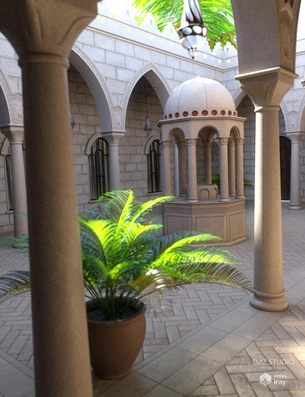 Al Sharqia Courtyard by: Merlin Studios, 3D Models by Daz 3D