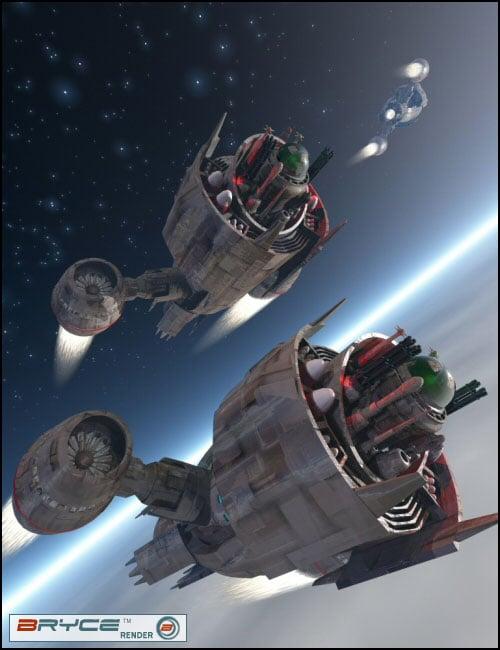 Warhead by: drawbridgep, 3D Models by Daz 3D