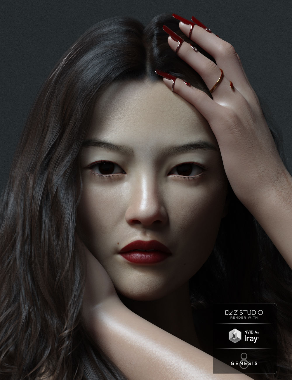 Xia HD for Genesis 8 Female by: Mousso, 3D Models by Daz 3D