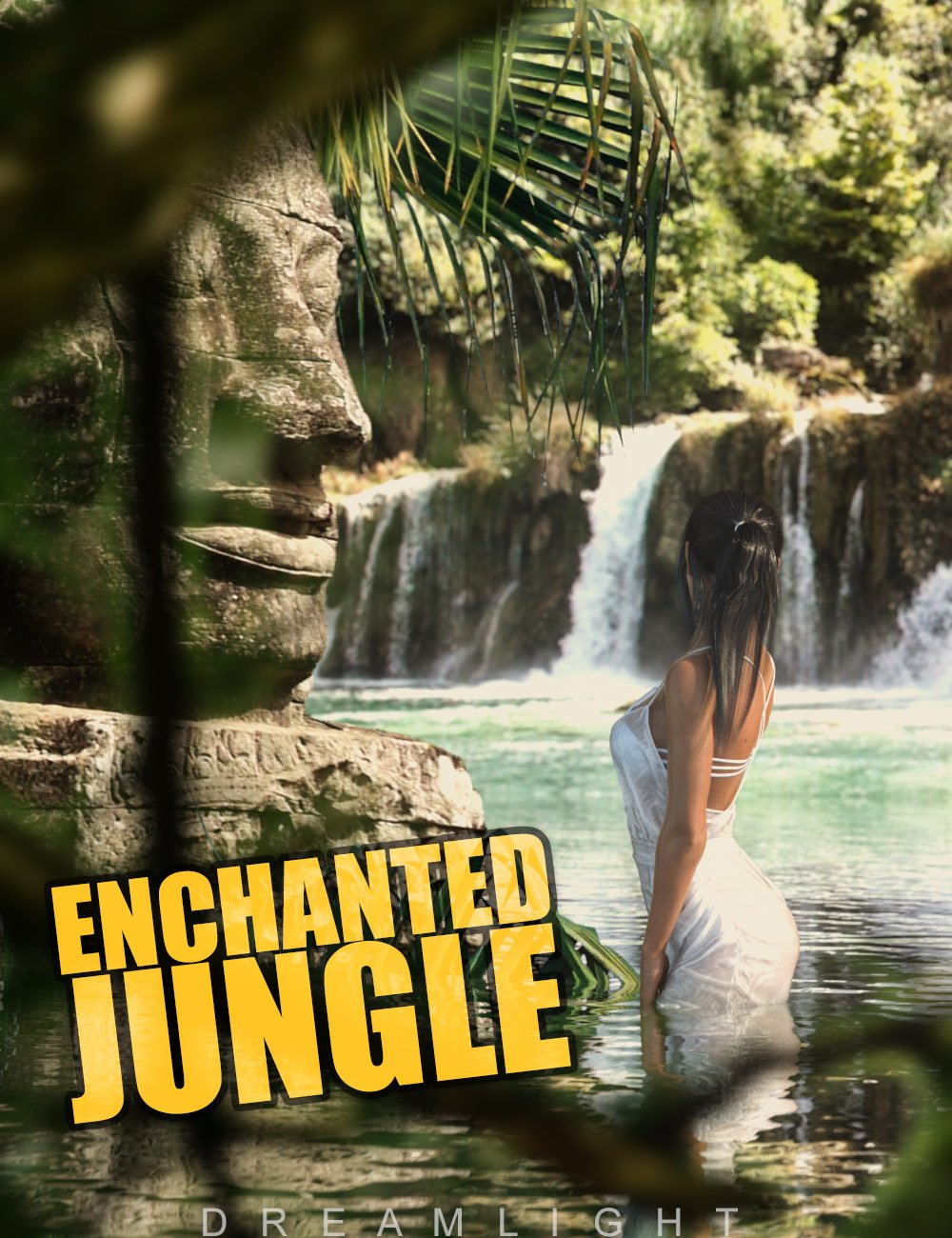 Enchanted Jungle Backgrounds by: Dreamlight, 3D Models by Daz 3D