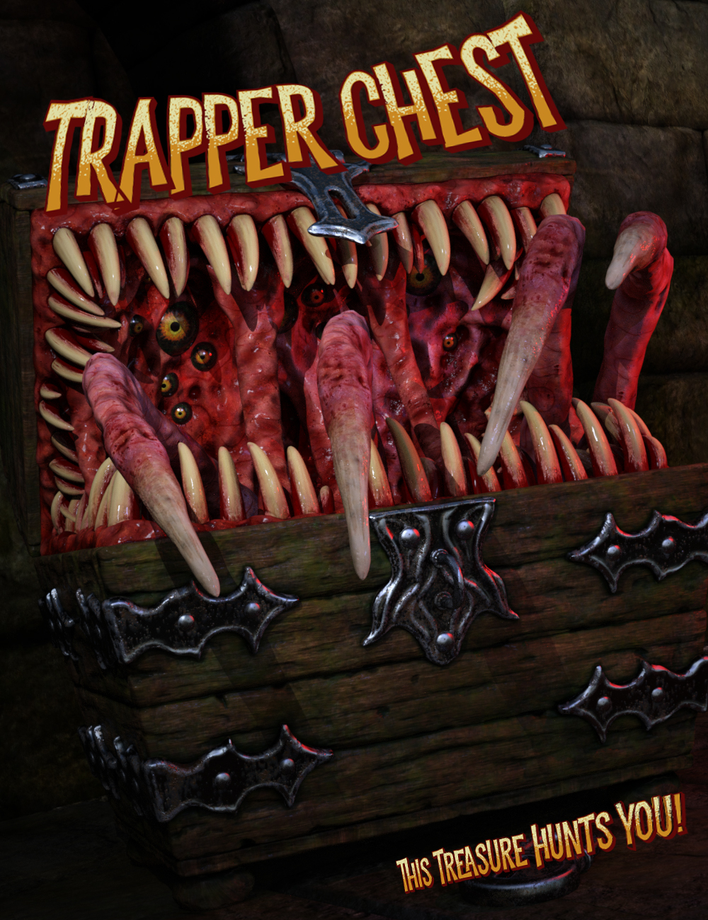 Trapper Chest by: Hawke, 3D Models by Daz 3D