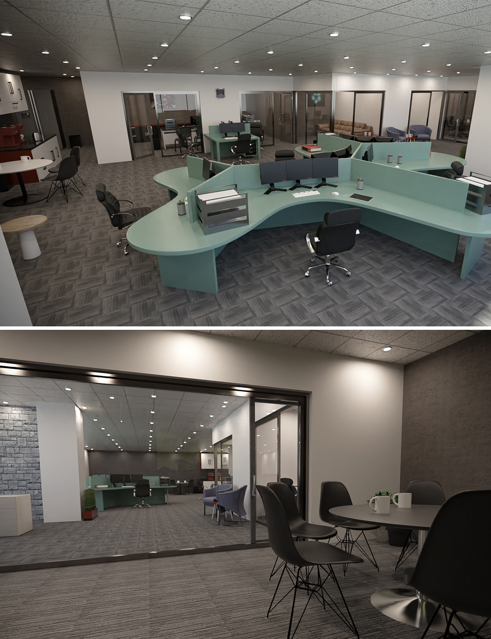 Designer Studio Office by: Tesla3dCorp, 3D Models by Daz 3D