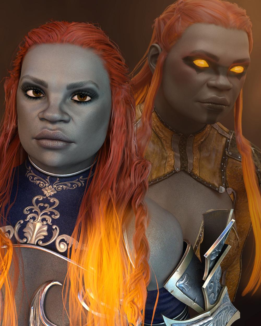 Gilrundi for Genesis 8 Female by: TwiztedMetal, 3D Models by Daz 3D