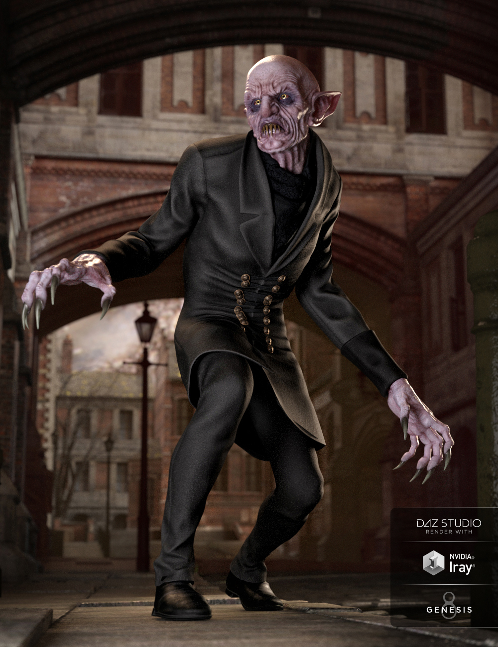The Count Outfit for Genesis 8 Male(s) by: Mada, 3D Models by Daz 3D