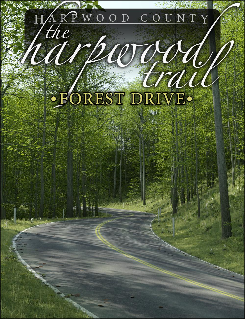 The Harpwood Trail - Forest Drive by: HowieFarkes, 3D Models by Daz 3D