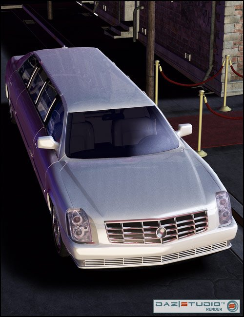 2007 AM Limo by: , 3D Models by Daz 3D