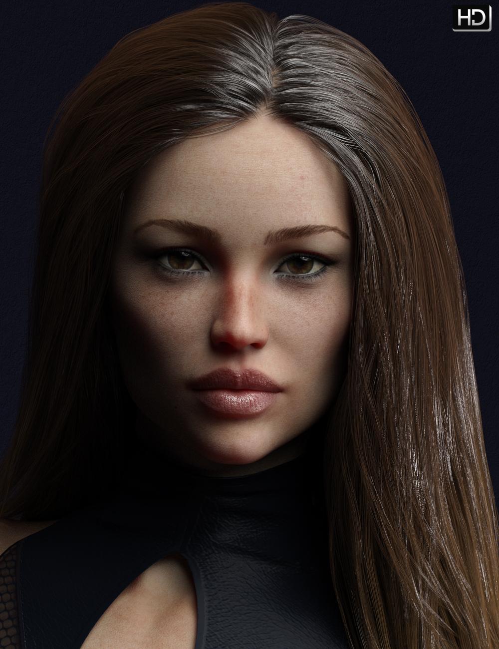Caitlyn HD for Eva 8 by: EmrysFred Winkler Art, 3D Models by Daz 3D