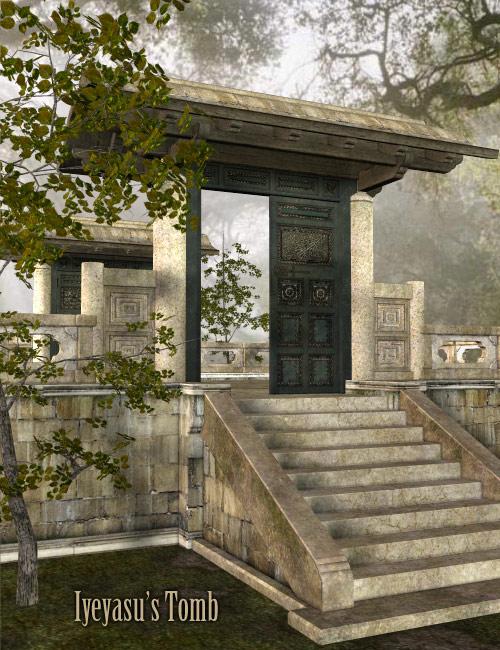 Iyeyasu's Tomb by: , 3D Models by Daz 3D
