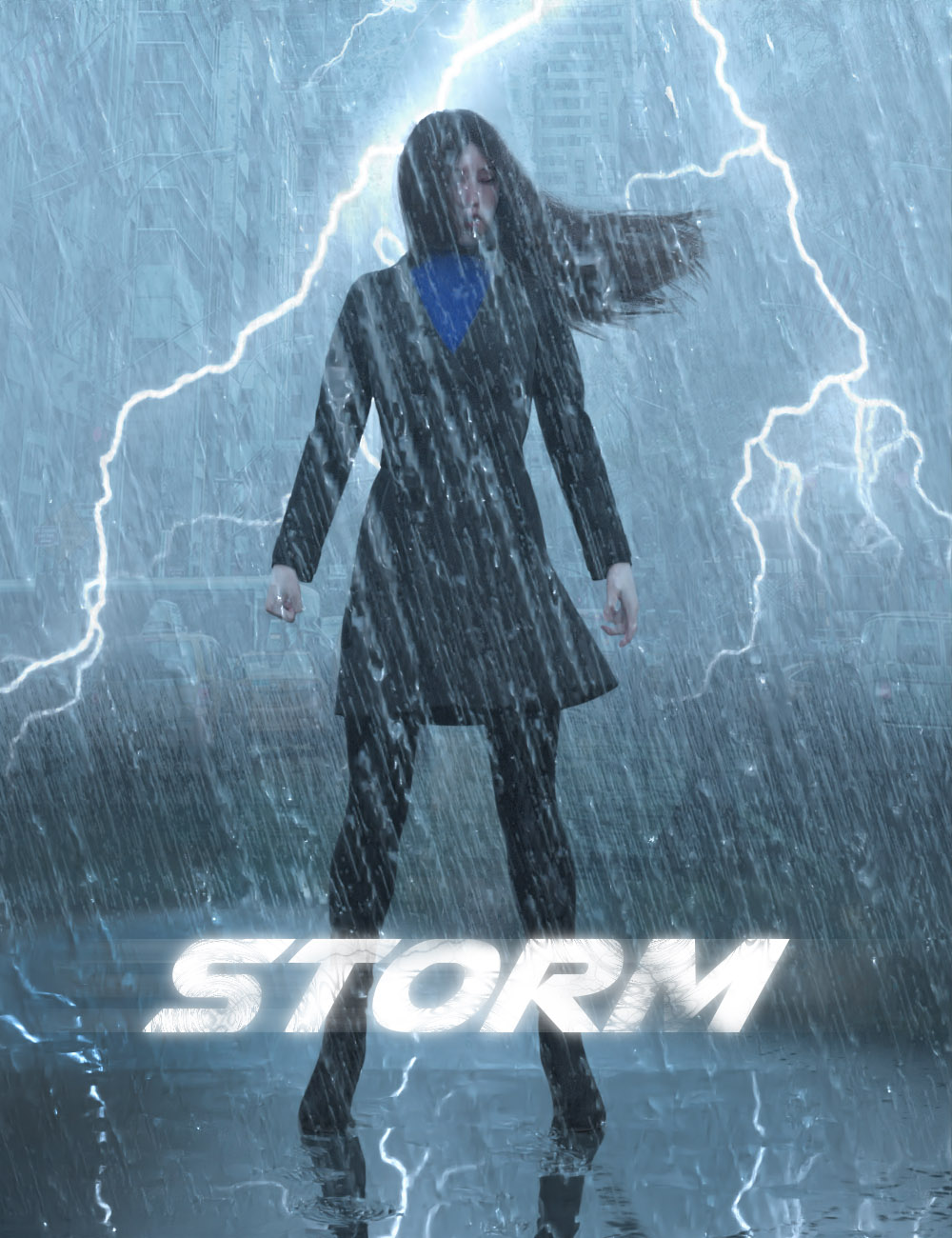 Iray Storm by: KindredArts, 3D Models by Daz 3D