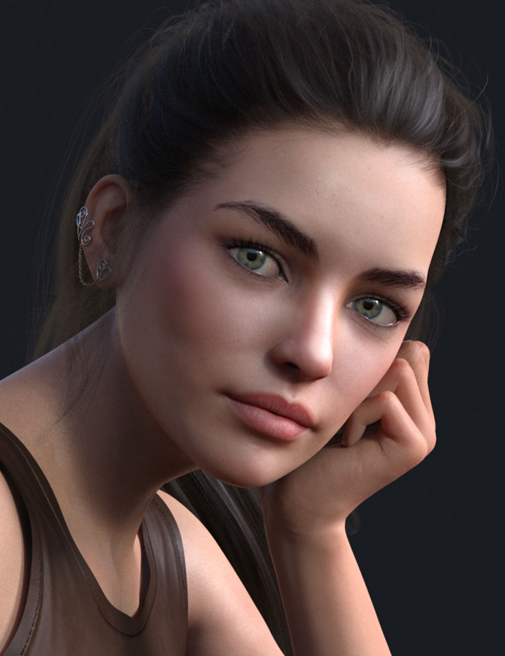 Lexy HD for Genesis 8 Female by: Mousso, 3D Models by Daz 3D