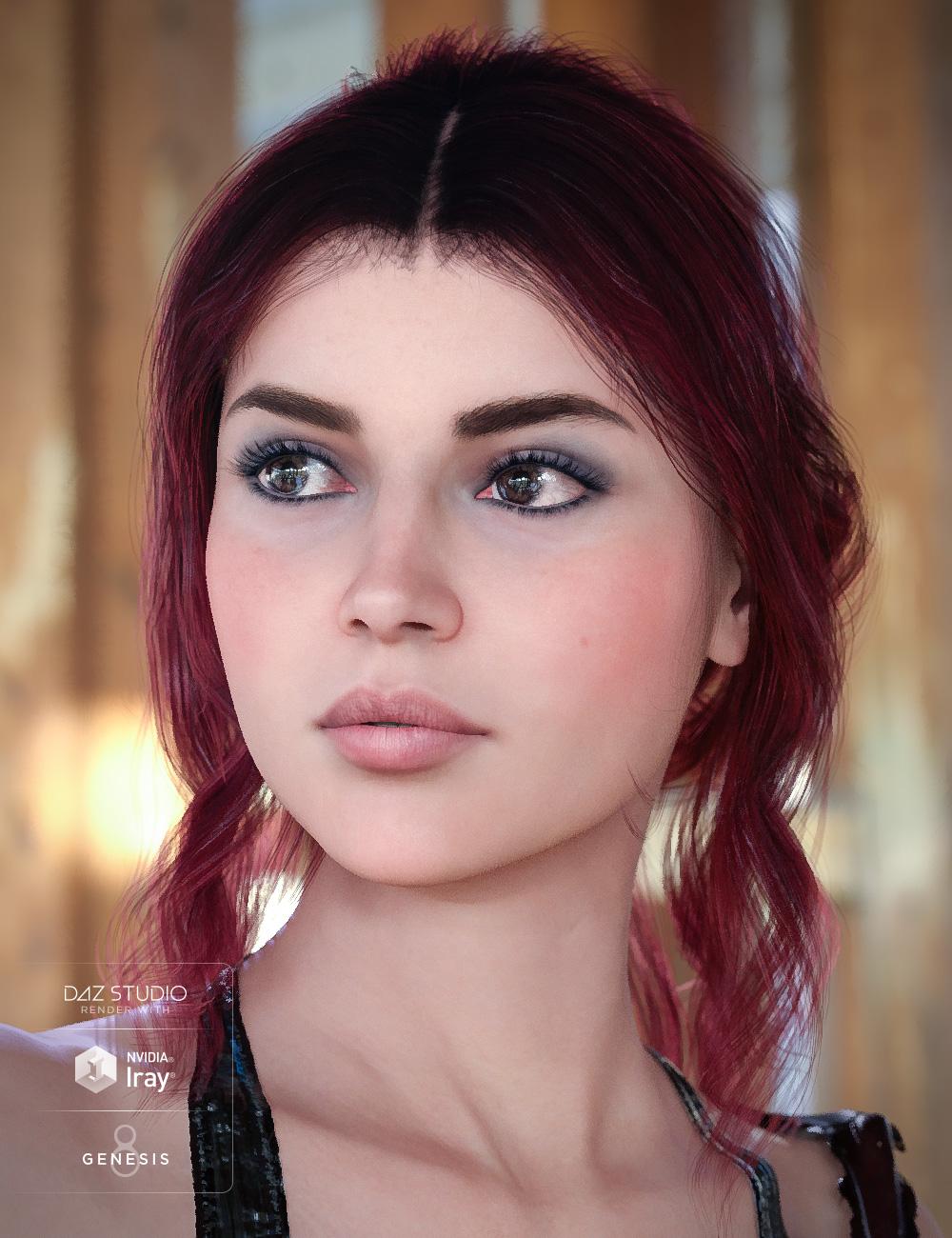 Colors for Capri Hair by: goldtassel, 3D Models by Daz 3D