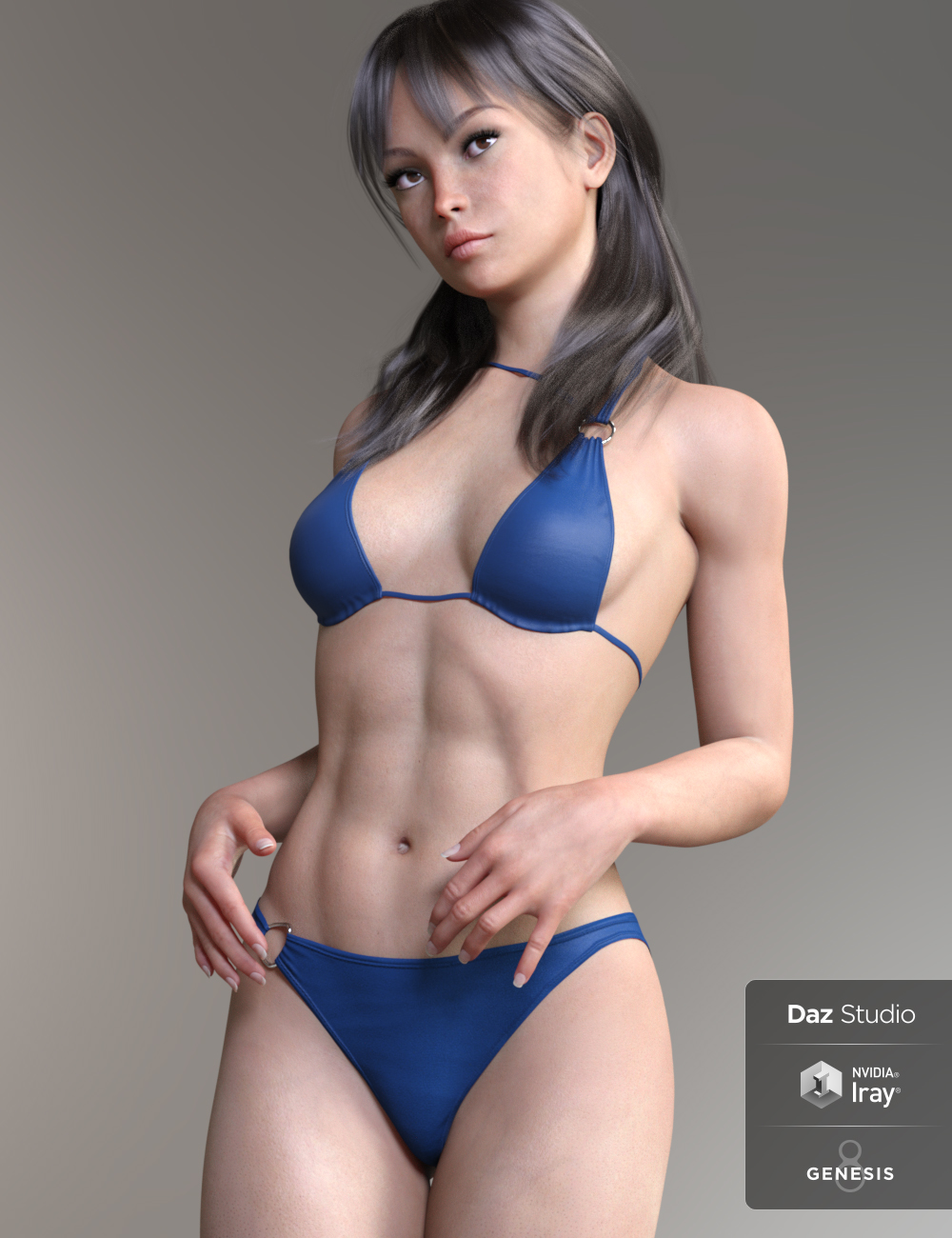 Martina HD for Genesis 8 Female by: AnainAkasha, 3D Models by Daz 3D