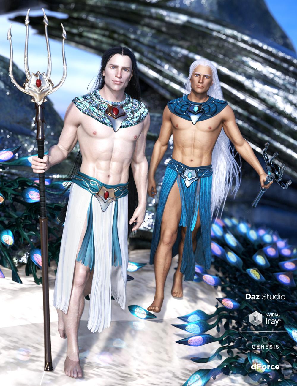 dForce Alascanus Outfit for Genesis 8 Male(s) by: ArkiShox-Design, 3D Models by Daz 3D