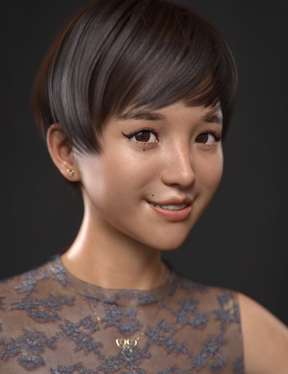 Hyorin for Mei Lin 8 by: VincentXyooj, 3D Models by Daz 3D