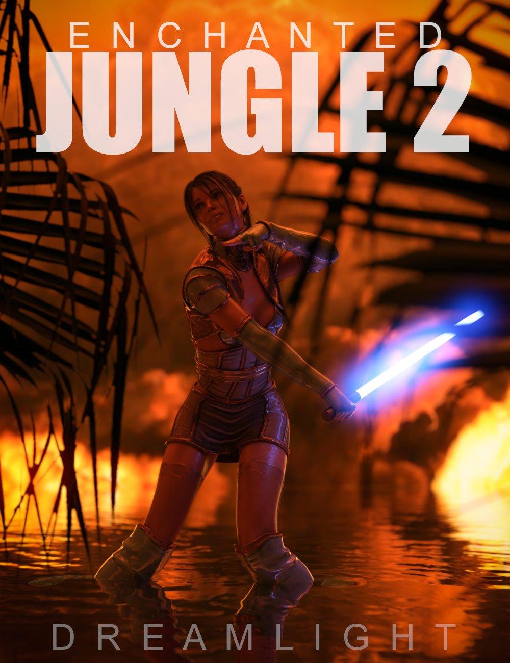 Enchanted Jungle Backgrounds 2 by: Dreamlight, 3D Models by Daz 3D