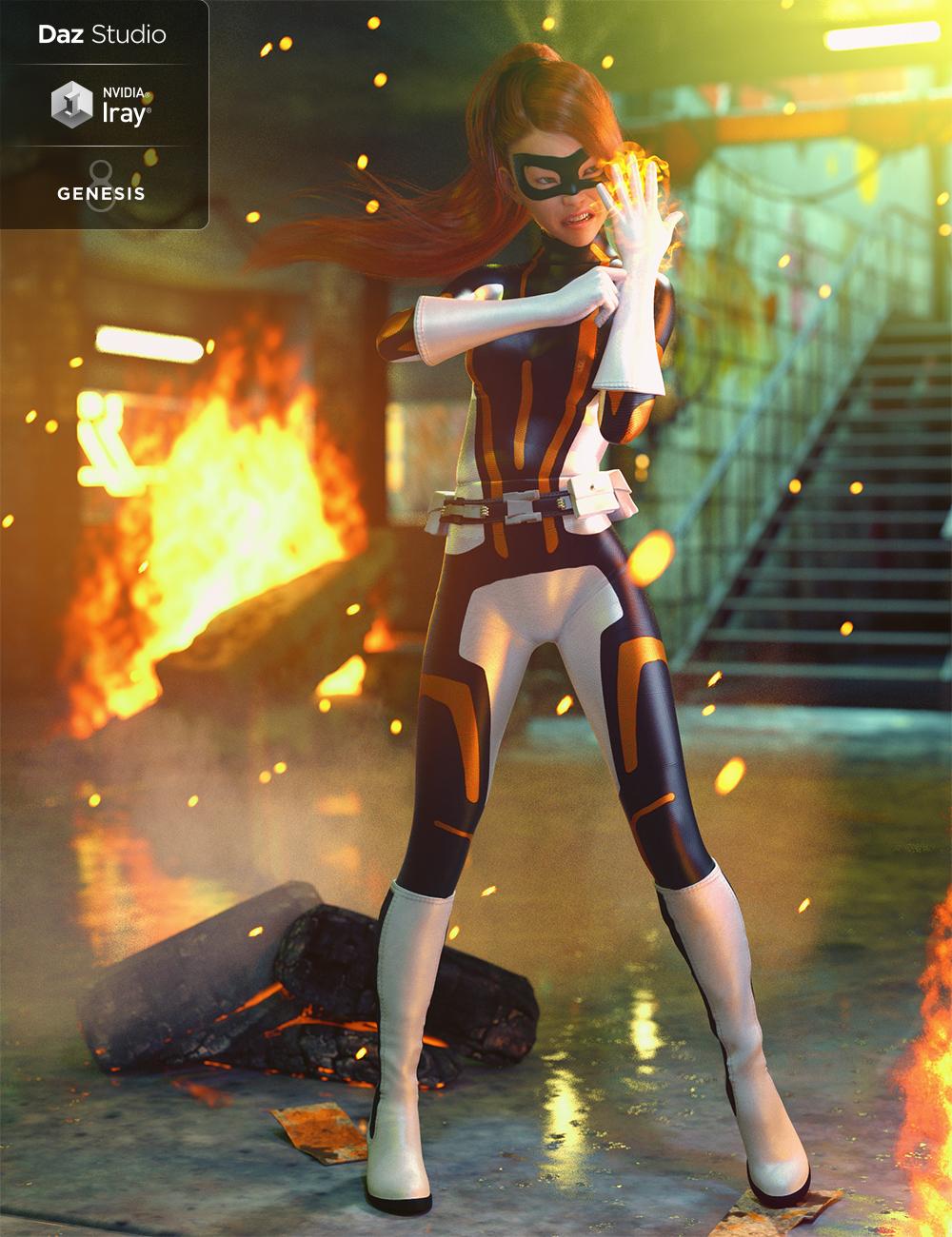 Marvelous Bodysuit for Genesis 8 Female(s) by: MadaMoonscape GraphicsSadeShox-Design, 3D Models by Daz 3D