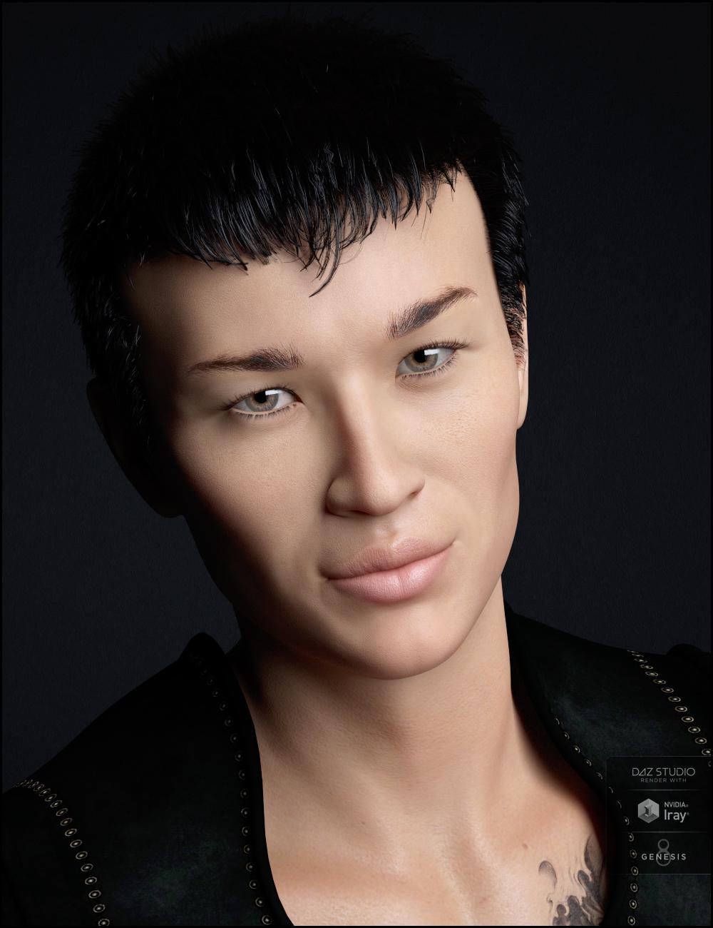 Riku for Lee 8 by: RazielJessaii, 3D Models by Daz 3D