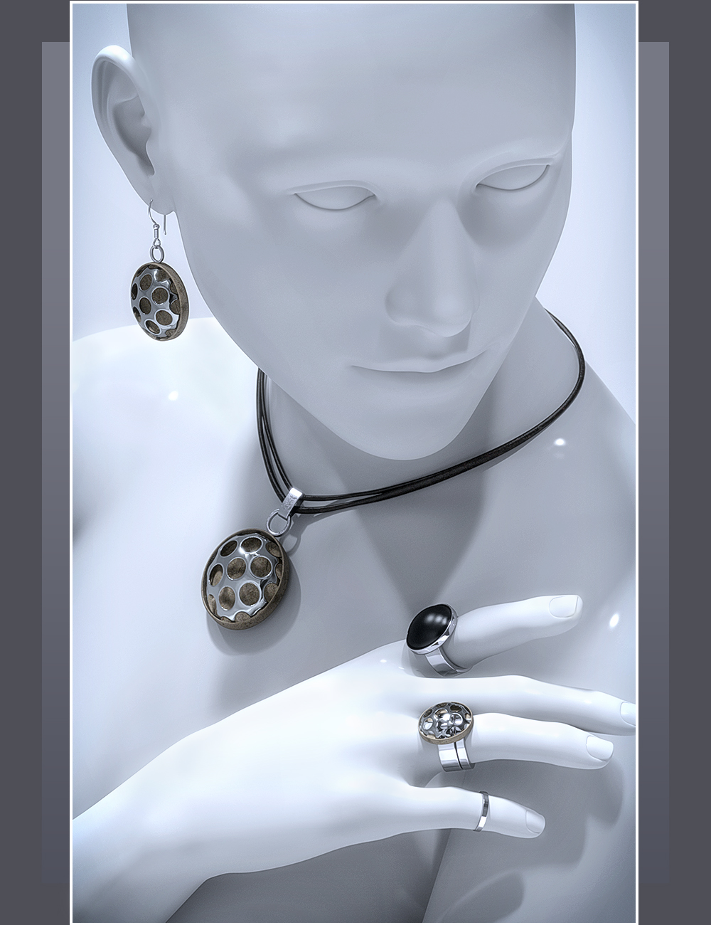 ES Jewelry Collection by: EyeStorm, 3D Models by Daz 3D