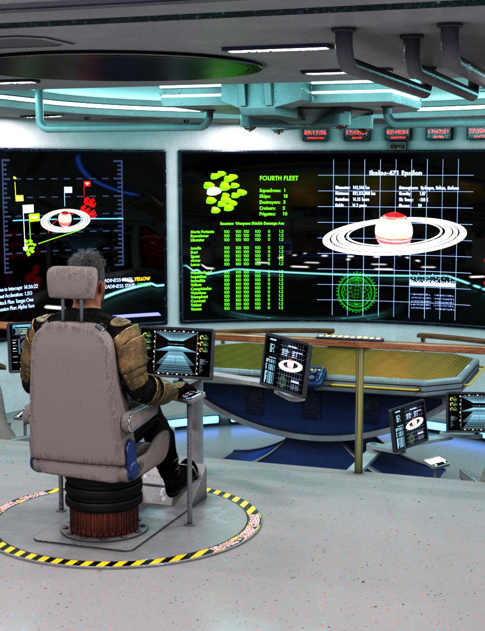 Fleet Ops: Admiral's Bridge by: TangoAlpha, 3D Models by Daz 3D