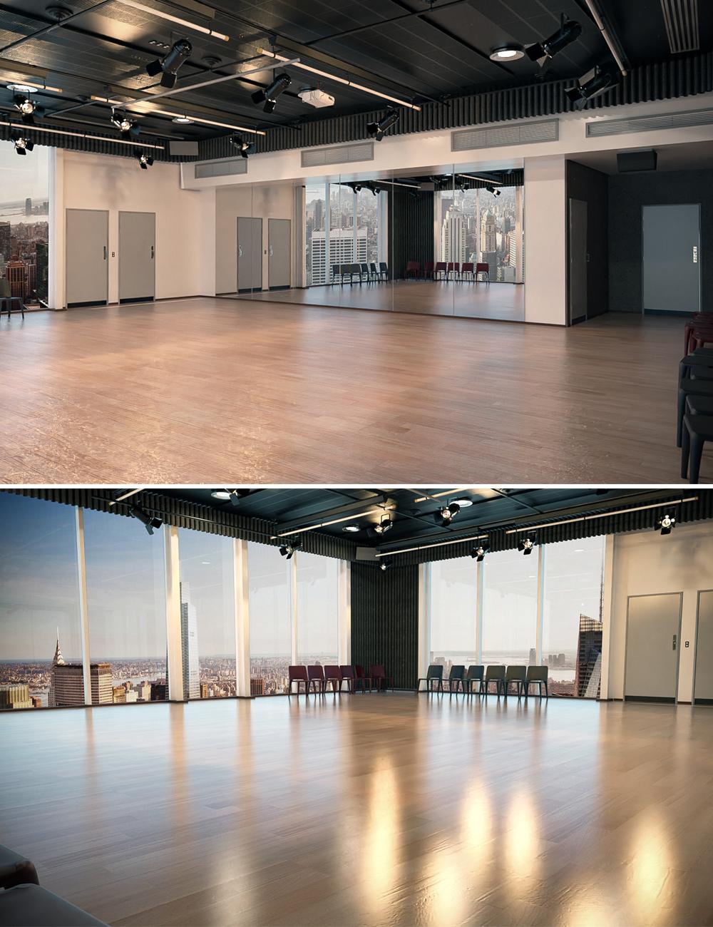 Dance Art Studio by: Tesla3dCorp, 3D Models by Daz 3D