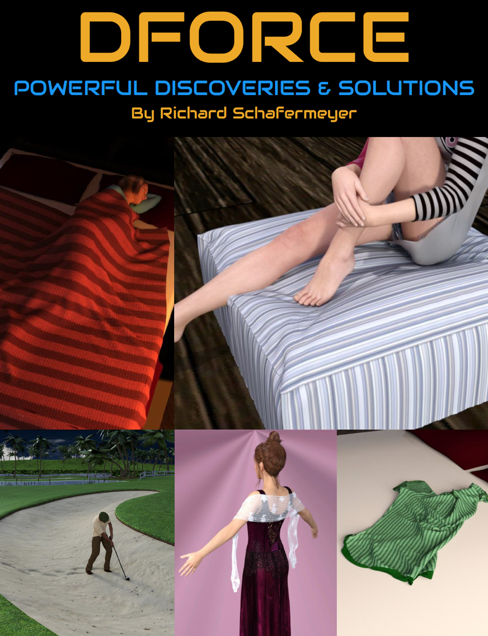 Powerful dForce Discoveries and Solutions by: Digital Art Live, 3D Models by Daz 3D