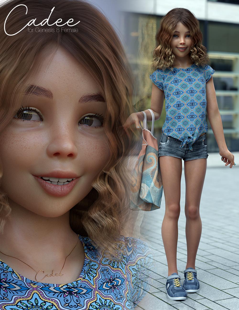 Cadee Bundle for Genesis 8 Female(s) by: 3D Universe, 3D Models by Daz 3D