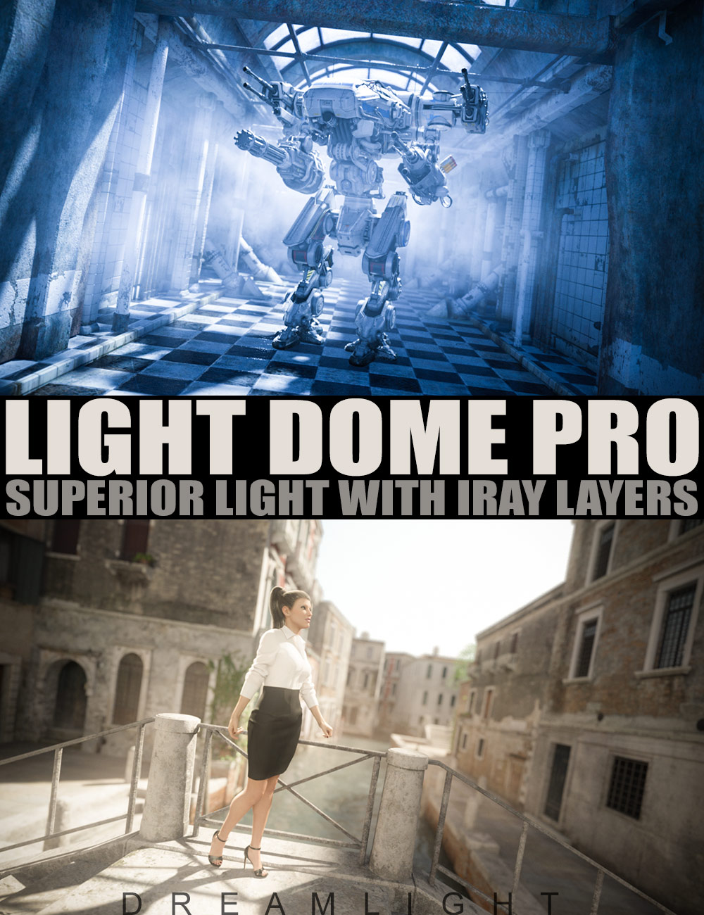 Light Dome PRO Iray - Superior Light With Layers by: Dreamlight, 3D Models by Daz 3D