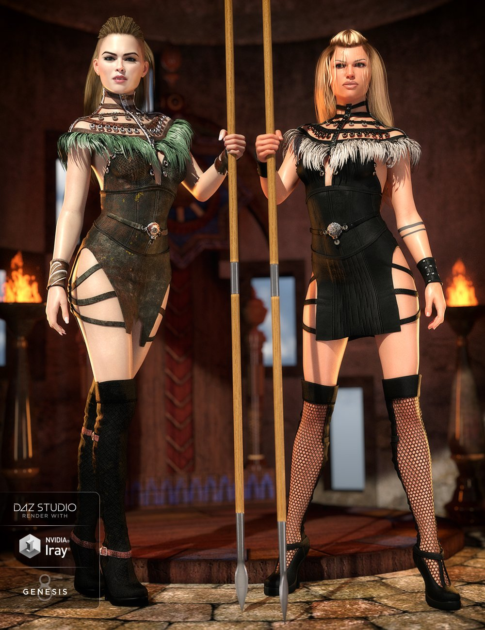 Advent Outfit Textures by: Shox-Design, 3D Models by Daz 3D