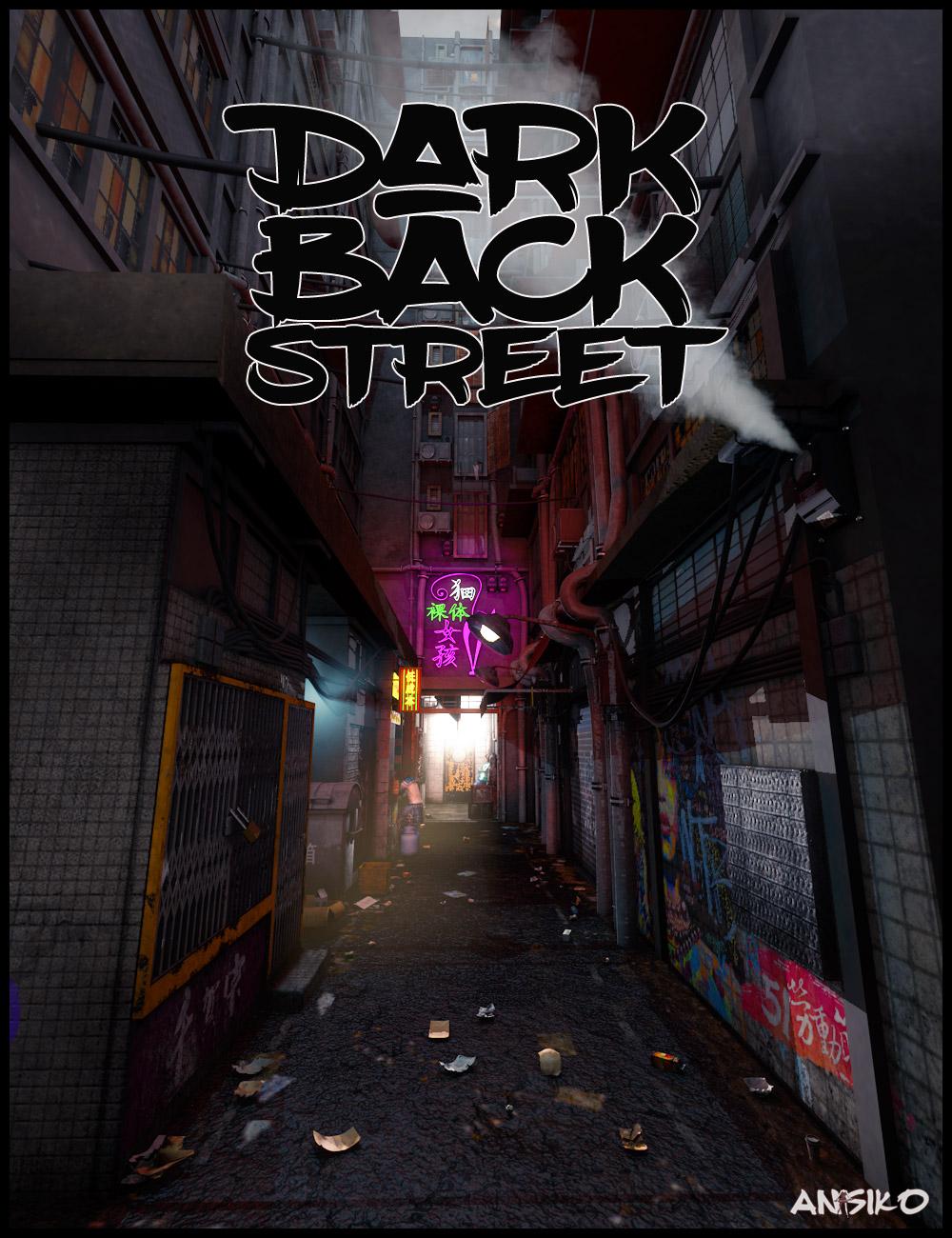 Dark Back Street by: Ansiko, 3D Models by Daz 3D