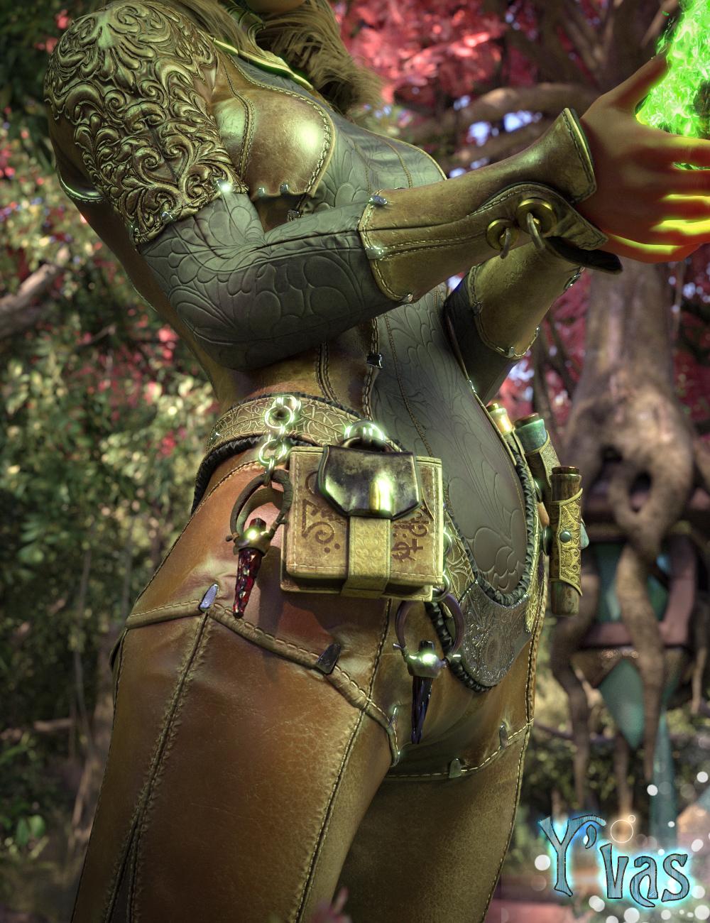 Y'vas Outfit for Genesis 8 Female by: Aeon Soul, 3D Models by Daz 3D